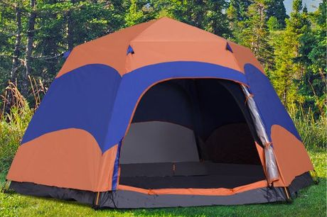 £119 instead of £249 for a pop-up 6 person camping tent from Mhstar Uk Ltd - save up to 52%