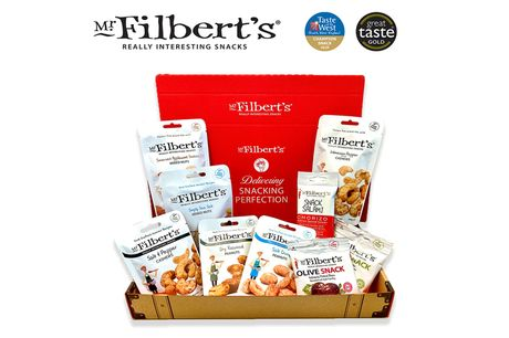 £15 for a deluxe KETO diet selection box from Mr Filbert's including 18 snack packs - enjoy their moreish olive snacks, cashews, peanuts, chorizo and more!
