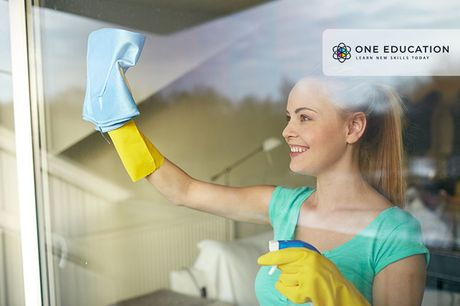 £9 for an online window cleaner course from One Education