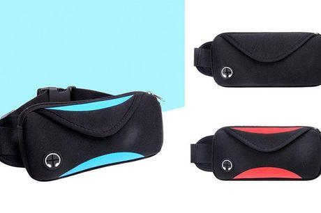 Smart og praktisk bæltetaske til løbeturen  Er du typen, der binder husnøglen fast i snørebåndene? Og løber du måske med mobilen i hånden? Så har vi fundet løsningen til dig. Denne smarte og praktiske bæltetaske til løbeturen, lader dig opbevare væske, m