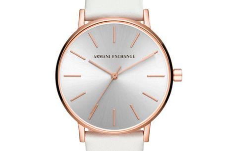 Armani Exchange Lola AX5562 Ditur.dk er autoriseret forhandler af Armani Exchange. Det betyder at du er sikret ægtheden af dit ur samt har du får 2-års garanti. Alle vores Armani ure bliver sendt med original urboks og garantibevis. Armani Exchange er