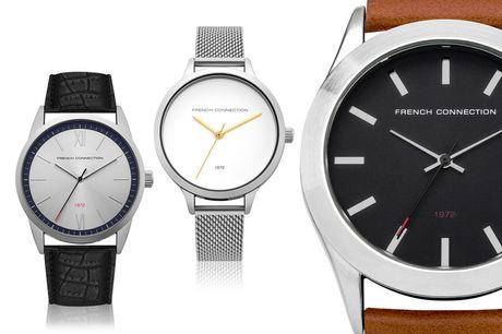 £16 for an FCUK watch from Brand Arena - choose from 12 designs and save up to 64%