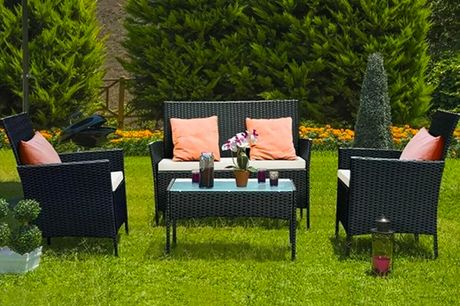 £169 instead of £489.99 for a four-piece rattan garden furniture set from Rattrix – save 66%