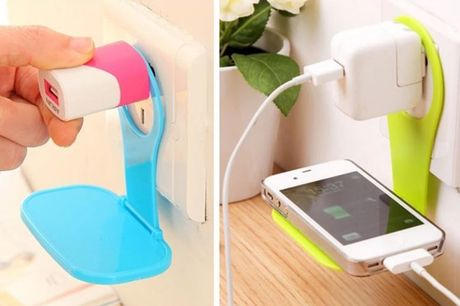 £5.99 instead of £19.99 for one folding mobile phone charging stand,  £6.99 for two or £12.99 for four from Secret Storz - save up to 70%
