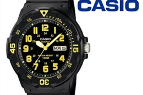 Relógio Casio® MRW-200H-9BVDF Amarelo por 36.30€ PORTES INCLUÍDOS