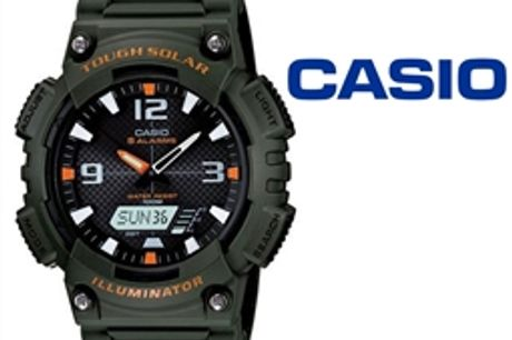 Relógio Casio® AQS810W3AVDF por 62.70€ PORTES INCLUÍDOS