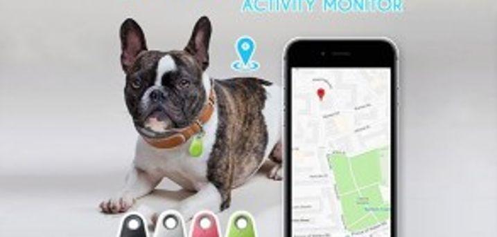Smart GPS Pet Tracker.  Vandtæt Pet Tracker med GPS- kan også bruges til nøgler, tasker, mobil, pung, bilen m.m.