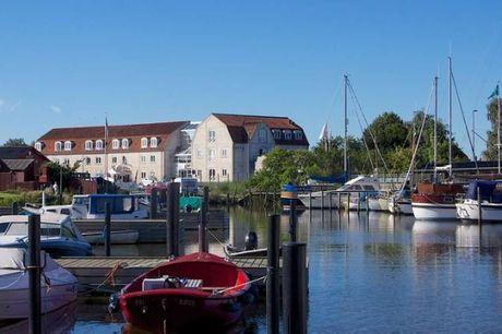 Oplev den gamle middelalderby Køge med Danmarks største aktive handelstorv. 3 dage inkl. - 2 overnatninger - 2 x morgenmad - 2 x 2-retters menu/buffet - 1 x velkomstdrink før middagen - Gratis internet og parkering