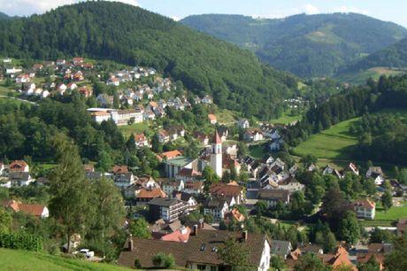 Oplev Schwarzwald og Alsace på én og samme ferie. 3 dage inkl. - 2 overnatninger m. morgenmad - 2 x 3-retters menu - 1 x velkomstdrink - 1 x 5 EUR til Brennerei-Scheibel - 1 Bonushæfte + KONUS kort