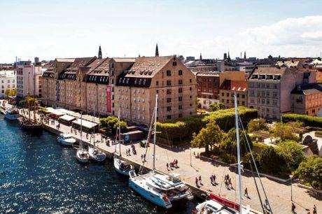 Lækker kvalitet og stil direkte ved Københavns inderhavn. 3 dage inkl. - 2 overnatninger - 2 x morgenmad - Gratis kaffe/te i lobbyen - Gratis internet - Central beliggenhed