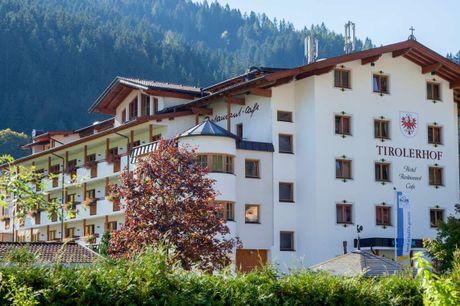 Nyd en uforglemmelig ferie i hjertet af de tyrolske alper. 4 dage inkl. - 3 overnatninger - 3 x morgenbuffet - 3 x 3-retters menu/buffet - 1 x velkomstdrink - Adgang til wellness