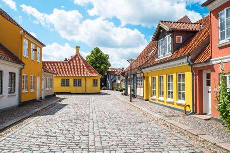 City Hotel Odense. Bo tæt på H.C. Andersens Hus i den charmerende gamle bydel. 3 dage inkl. - 2 overnatninger - 2 x morgenmad - 1 x 2-retters menu - 1 x 1 glas vin - Gratis kaffe og te