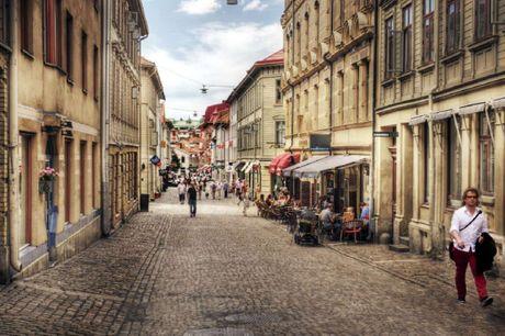 Tag en tur til Sveriges anden største by, Göteborg.. 3 dage inkl. - 2 x overnatninger - 2 x morgenbuffet - 2 x kaffe og kage - Beliggende i centrum - Mulighed for at stege vafler