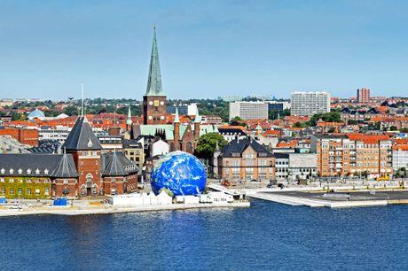 Budgetvenligt hotel med suveræn placering i Aarhus. 3 dage inkl. - 2 overnatninger - 2 x morgenmad - Gratis kaffe/te på værelset - Gratis internet - Beliggende i centrum