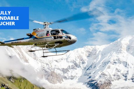 £1099pp -- 11-nt Everest base camp trek w/helicopter flight