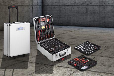 300-delige gereedschapskoffer Met 4 handige lades<br /> Makkelijk mee te nemen<br /> Altijd alles bij de hand!