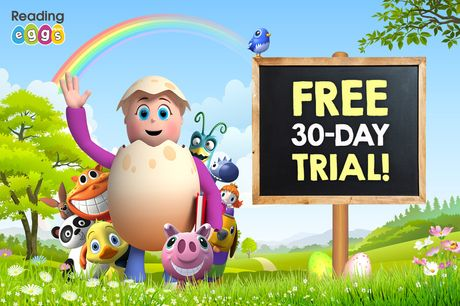 A 30-day free trial to Reading Eggs & Mathseeds - discover the multi award-winning online learning platform designed to make learning fun and easy for children aged 2-13 through great games and activities!