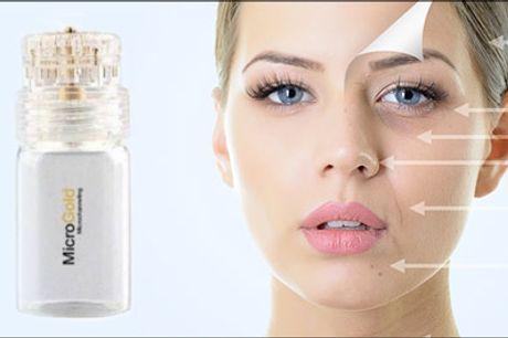 Få en sund, flot hud med masser af glød.. - Fornyet energi til huden - Prøv en lækker Micro Gold ansigtsbehandling, værdi kr. 700,-
