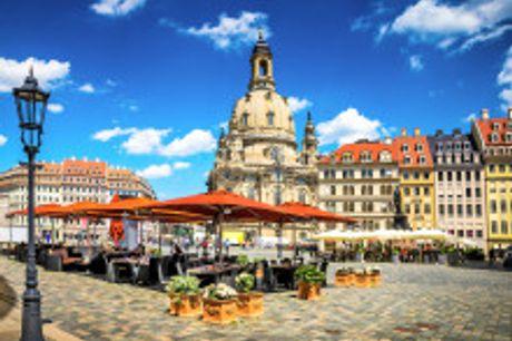 """Die """"Barockstadt"""" Dresden: Ein Zentrum kultureller und wissenschaftlicher Innovation!. April bis Juni 2021 buchbar! Dresden hatim Frühling einenbesonderen Zauber"""