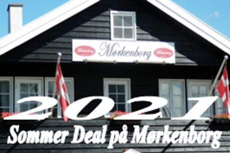 Sommer-ophold på Nordfyn med 2 retter og morgenmad. Med valgfri kalveschnitzel samt jordbærtrifli eller is dessert.