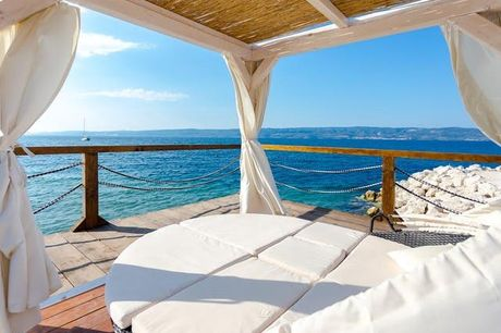 Strandnah an der kroatischen Riviera - Kostenfrei stornierbar, Hotel Plaža Duće, Duće - Omiš, Dalmatien, Kroatien - save 24%