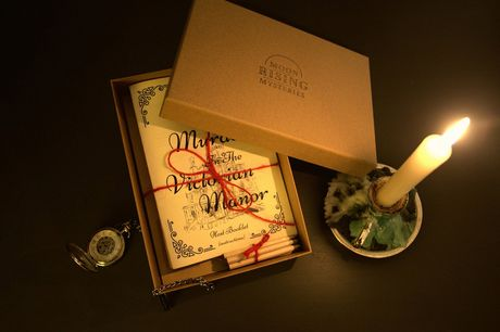 £5 for a virtual handmade murder mystery Victorian Manor dinner party game for six to seven people from Moonrising Mysteries (PDF)