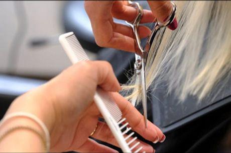 Grøn og miljøvenlig frisør - super deal! - Glæd dig til denne øko-venlige frisørbehandling. Du får 1 dameklip til langt hår inkl. 1 farve reflekser, hårkur, vask og føn. Værdi kr. 1975,-