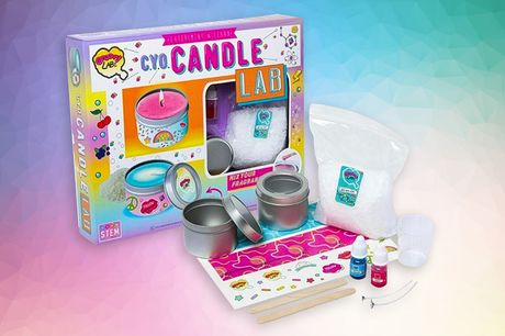 £5.99 instead of £29.99 for a Create your Own Candle Lab set for kids from Vivo Mounts!