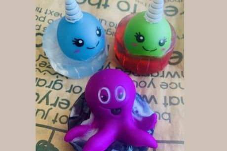 £5 for a Sea Creature or Narwhal Soap Kit from The Soap Loaf Company