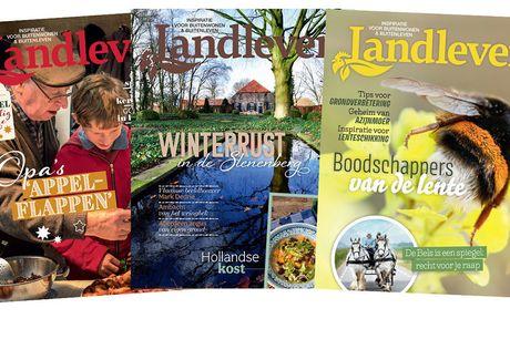 Abonnement Landleven Kies uit 5 of 11 nummers<br /> Inclusief verzendkosten<br /> Elk nummer bevat ruim 160 pagina&apos;s!