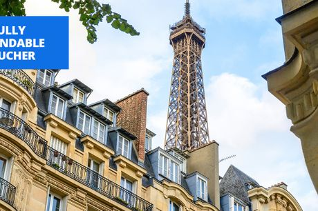 £259 -- Paris: 2-nt deluxe stay w/breakfast & wine, save 67%