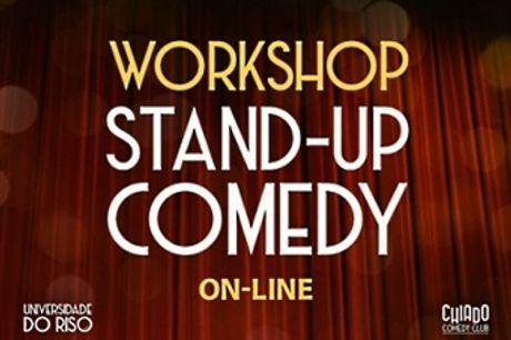 Workshop Online de Iniciação ao Stand Up Comedy - 5 Sessões em Directo | Chiado Comedy Club por 79.90€. Rir é o Melhor Remédio!