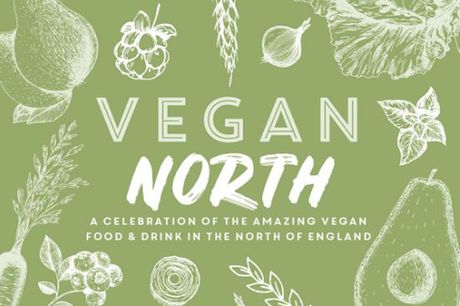 £9 for the Vegan North Cookbook from Meze Publishing - enjoy vegan dishes inspired by northern England!
