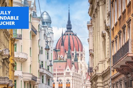 £150 -- Budapest: 2-night stay with breakfast, up to 78% off