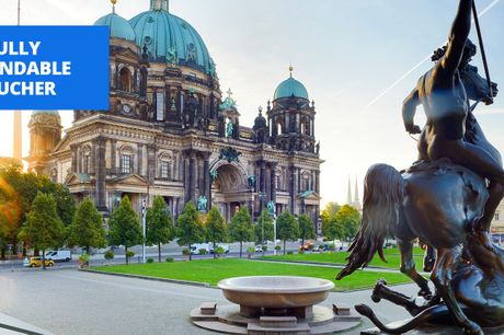 £125 -- 5-star city centre Berlin stay, into 2022, save 41%