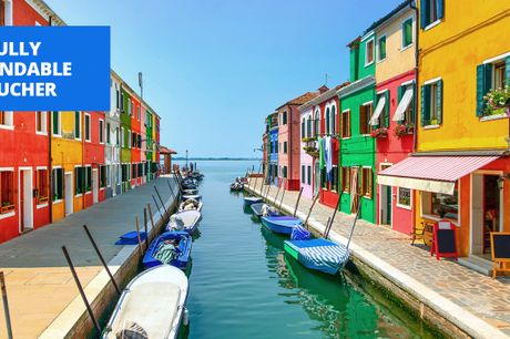 £79 -- Into 2022: Deluxe Venice stay in new hotel, 51% off