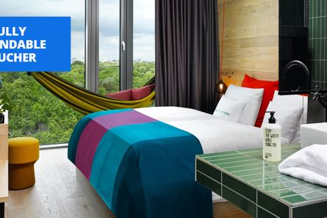 £139 -- 'Incredibly cool' Berlin stay w/zoo views & roof bar