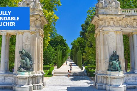 £89 -- 'Artsy' central Madrid summer stay, up to 53% off