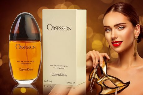 £17.99 instead of £24.50 for a CK Obsession for women EDP from Beauty Scent!