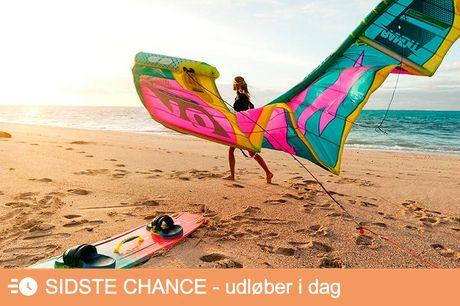 3 timers kitesurfing undervisning.  Amager m.fl Kurset vil bestå af en instruktør om 2-4 personer. Så du kan enten tage en ven, en date eller en kollega med under armen - eller komme selv og blive sat sammen med en anden via Kite Sjælland.