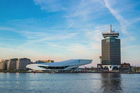 Paesi Bassi Amsterdam - Sir Adam Hotel 4* a partire da € 60,00. Stile unico e vista mozzafiato dall'A'DAM Tower