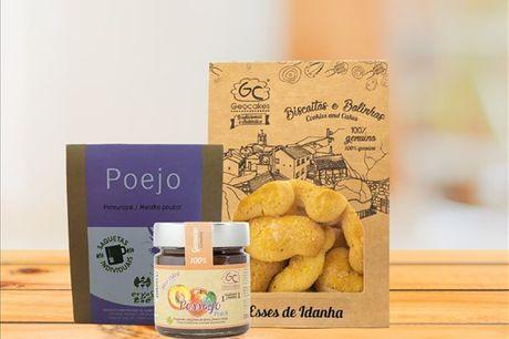 Receba em sua casa este cabaz da Geocakes repleto de sabor e tradição. Composto por 3 produtos, aproveite agora por apenas 16,90€