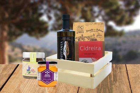 Receba em sua casa este cabaz composto por 5 produtos bem portugueses e com sabores autênticos. Da Geocakes, aproveite agora por apenas 23,90€