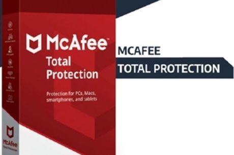 McAfee Total Protection desde 14€. Dispositivos: 1, 5 ou 10. Software de Segurança Máxima. ENVIO INCLUÍDO.