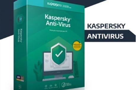Kaspersky Antivirus desde 18€. Dispositivos: 1, 3 ou 5. Software de Segurança Máxima. ENVIO INCLUÍDO.