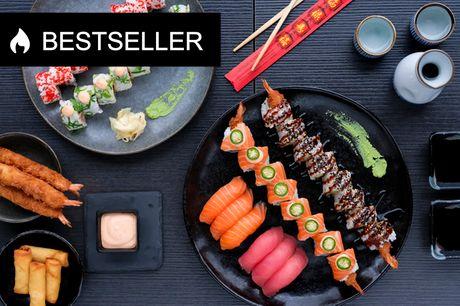 Take-away sushi fra Z-Sushi. Nyd 36 eller 44 stykker luksus – hent på Østerbrogade!