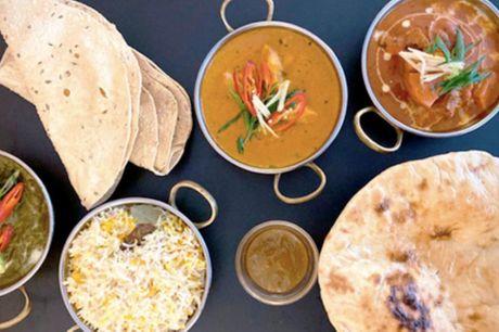 Takeaway: Sammensæt din egen indiske 3-retters menu fra Buddha Palace. Spar over 50%. Få fx lækre sprøde pappadams og smagfuld butter chicken med naan brød. Mums 🤤