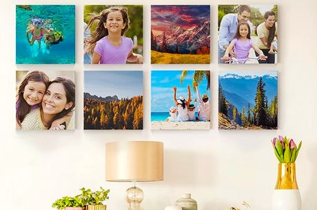 "£1 for a 20x20cm photo canvas, A5 leather photobook, A5 hardback photobook or 50 6x4"" photo prints from Printerpix!"