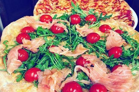 Menu pizza d'asporto con antipasto, dolce e bibita dal Ristorante Dulcis In Fundo (sconto fino a 52%)