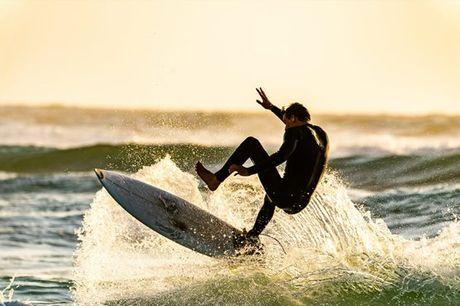 Aventure-se numa aula de surf ou bodyboard e descubra um talento escondido! Para 1 pessoa por apenas 14,90€